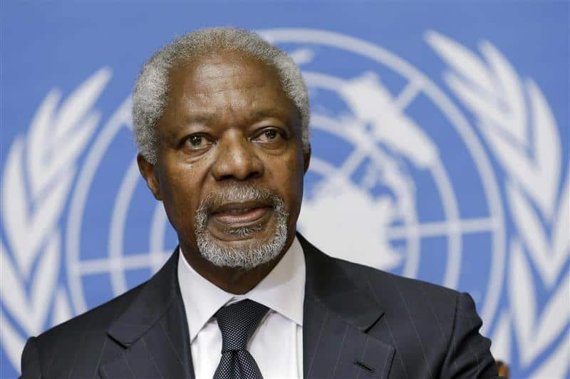 Just In: Kofi Annan is dead