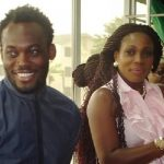 Michael Essien and WIfe, Akosua Puni