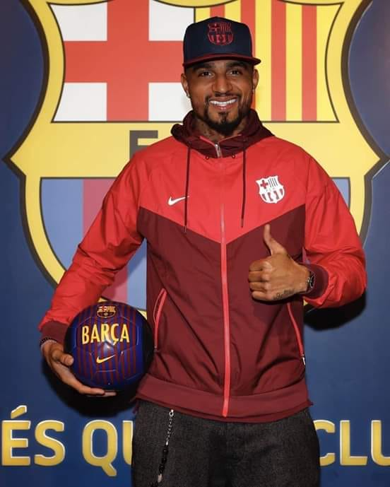 MALLAM MOVE - Kevin-Prince Boateng Joins Barcelona