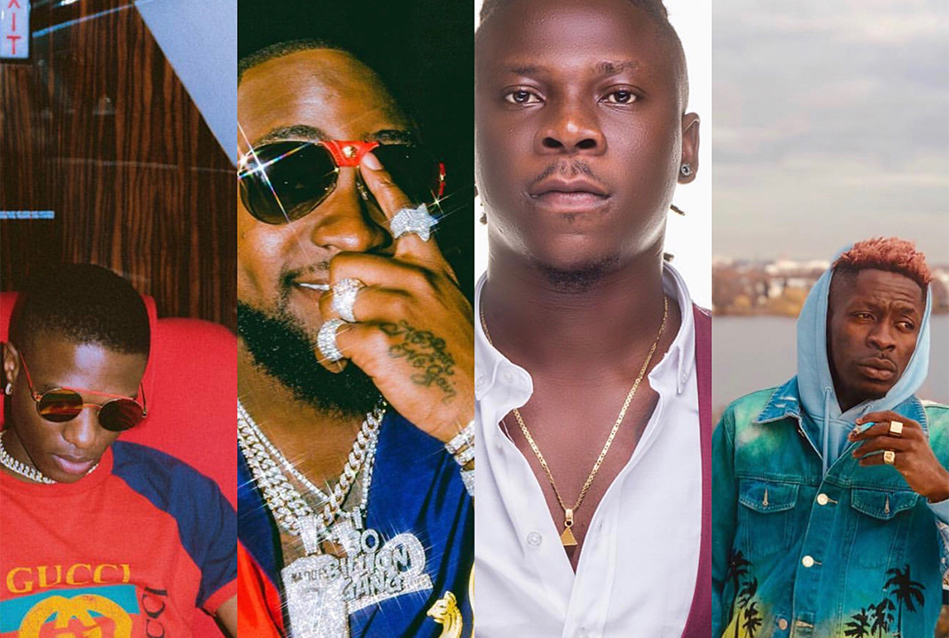 Shatta Wale, Stonebwoy, Alkaline, Davido, Wizkid others for Afro Nation Ghana Festival 2019