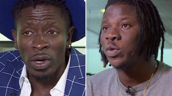 Shatta Wale, Stonebwoy granted GHc50,000 bail each after court appearance